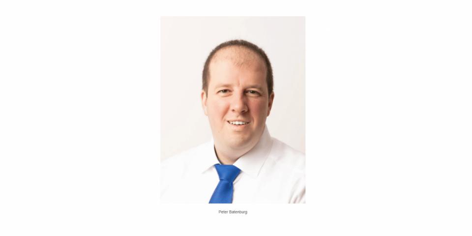 New LDE Liaison Officer Space Peter Batenburg