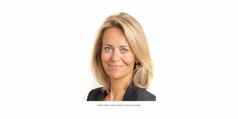 Esther Peters appointed Director of Space Campus Noordwijk